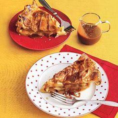 Caramel Apple Pie Recipe   MyRecipes.com