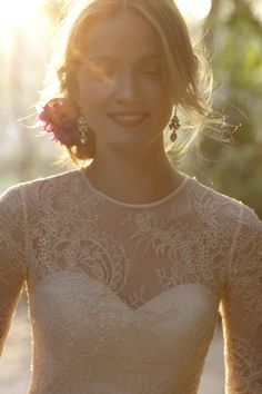 A new BHLDN wedding dress from their 2014 Summer line   blog.theknot.com