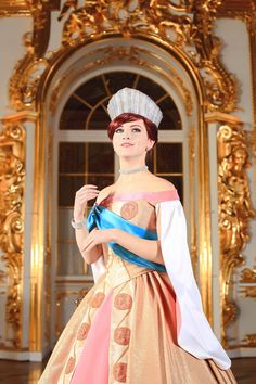 Once upon a December there was an Anastasia cosplay by Natalia Ladygina.
