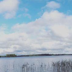 サウナの近くの湖#mikkeli #finland