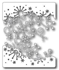 Memory Box - Die - Swirling Snowflakes,$27.99