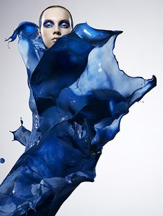 Paint splat fashion! Wow, the photography and creativity is amazing here! #NovoShoes