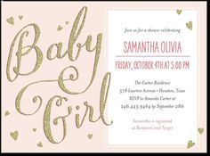 Little shine gold baby shower invitation by Petite Alma for Tiny Prints