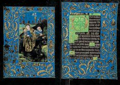 The Black Hours. Hours of the Virgin: None (continuation) | Fols. 66v–67r | The Morgan Library & Museum. Bruges, 15th century. All online at http://www.themorgan.org/collection/Black-Hours