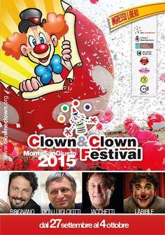 Preparate i nasi rossi: Torna il CLOWN&CLOWN Festival !!! Dal 27 settembre l'11^ edizione del festival del sorriso che unisce le due anime del Clown, quella artistica e quella sociale, in un vortice di emozioni e di Amore