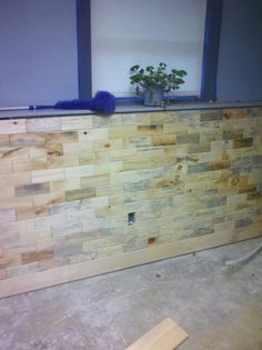 Antique blend pine wood tile