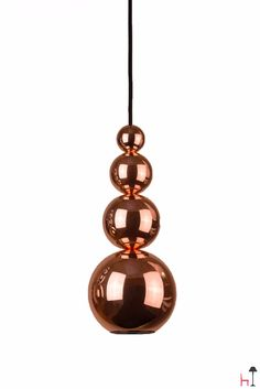 Bubble is a one-coloured pendant lighting fixture by Innermost.