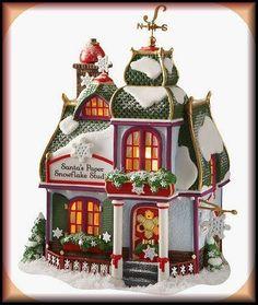 Santa's Paper Snowflake Studio NEW Department Dept. 56 North Pole Village D56 NP
