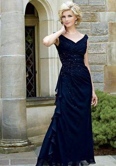 Vestidos Elegantes para la Madre de la Novia 5