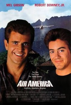 Mel Gibson - Air America (1990) Movie Poster