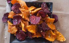 Sweet Potato & Beetroot Crisps Recipe by Giada De Laurentiis