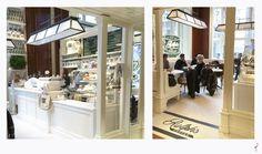 Retail Tips 2 por Carlos Aires. Cafeteria Ralph`s en Ralph Lauren Store New York