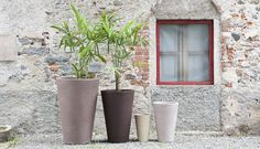 Vasi da giardino Liscio Siena 1