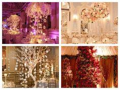 Centros de mesas originales #boda #ideas #decoración