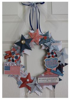 American Made: 3D wreath