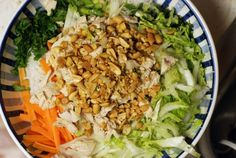 Rice Noodle Salad (with Chicken, Beef or Tofu)