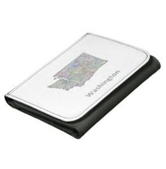Washington map wallets $24.25 *** washington map - washington - washington state - map - state - united states - seattle - olympia - usa state - border - boundary - contour - drawing - design - vector - lines - silhouette - line art - color - territory - outline - usa - faux leather wallet