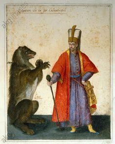 http://arteseanp.blogspot.com Imagem Semanal:O Urso Jacopo Ligozzi (1547-1627) Janissary and Bear, 1600. Gabinetto Disegni e Stampe, Florença.