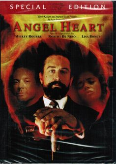 New Angel Heart 1987 Special Edition Widescreen DVD Horror Movie Mickey Rourke, Robert De Niro.  Alan Parker's atmospheric and controversial thriller stars Mickey Rourke as Harry Angel, a 1950s private eye hired by the enigmatic Louis Cyphre (Robert De Niro) to track down a missing singer. On the voodoo-shrouded streets of New Orleans, Angel's investigation takes him down a dark and dangerous path that leads to a shocking revelation about his connection to the man he's looking for. $9.98