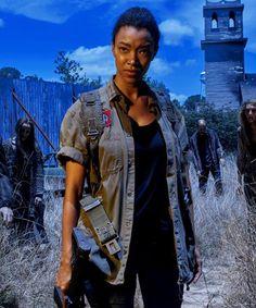 The Walking Dead Season 6.Sasha