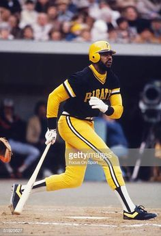 Pittsburgh Pirates' Dave Parker watches the flight of his ball before running for first during the World Series against the Baltimore Orioles at. Mlb, Pittsburgh Pirates Baseball, Before Running, National League, Baltimore Orioles, Baseball Players, World Series, Action, Male Figure