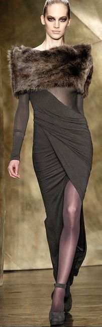 New York Fashion Week - Donna Karan Fall 2013 (My niece worked for her in NY,)