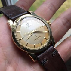 This 1954 Omega Seamaster just got sold!  For other amazing vintage Omega watches please visit my site now! . . www.qualityvintagetimepieces.com . . #vintageomegaseamaster #watch #watchporn #wristwatch #omega #omegawatch #patina #antique #antiquewatch #sw