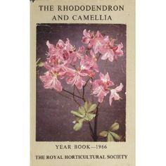 The Rhododendron and Camellia Year Book--1966 (Hardcover)