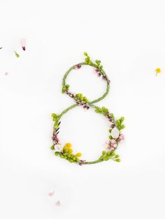 Alphabet from natural flowers Spring Logo, Flower Typography, Alphabet, Wedding Letters, Cute Funny Babies, Floral Letters, Nature Tree, Baby Art, Letters And Numbers