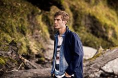 Supermodel Clement Chabernaud Stars in Selected Autumn 2016 Adv