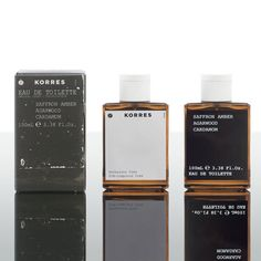 Korres Fragrances In search of a timeless, unique fragrance? We have just what you need. Korres Saffron, Amber, Agarwood, Cardamom Fragrance. The name may be somewhat hard to remember. However we are sure that masculine scent will be unforgettable. Korres features Saffron from Kozani in northern Greece which is known near and far as the world's finest Saffron producer.
