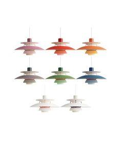 Kjøp PH 5 Pendel Nyanser Av Blå - Louis Poulsen her. NO's største utvalg av designer lamper. Alltid rask levering, 100 dagers returett og prisgaranti! Ceiling Lights, Lighting, Design, Home Decor, Modern, Decoration Home, Room Decor, Lights