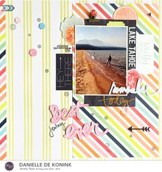 Danielle de Konink for Clique Kits - December Enchanted Meadow kit with Heidi Swapp September Skies and stamps from The Sweet Stamp Shop. @cliquekits @heidiswapp @sweetstampshop  #cliquekits #heidiswapp #sweetstampshop #scrapbooking #papercrafts #DIY #stamping #ckdecemberkit #scrapbookkit #ckenchantedmeadow  #scrapbooklayout