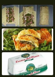 Rotolo di pasta sfoglia con spinaci e #Stracchino http://natypercucinare.altervista.org/pasta-sfoglia-con-spinaci-e-stracchino/