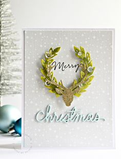 HelloTime is flying isn't, before we know it Christmas day will be here..I managed yesterday to get all my overseas cards written on and in the mail today bar 1 in the mail, so now it is head down and create again to get all of my local ones created and sent...all of my shopping is 90% under…