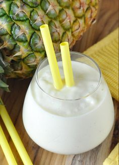 Pineapple smoothie is very delicious and healthy mixed drink. Super Easy and Delicious!!!
