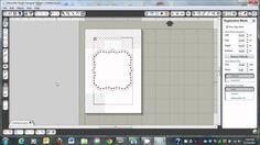 Adding Faux Stitching to any Cameo or SVG File Using the Print and Cut Feature