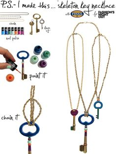 22 Super Cute Fall Necklaces You Can Make Yourself!