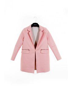 Štýlový dámsky kabát vhodný do každého šatníku. Kabát Peach 2 je z  pohodlného a mäkkého materiálu. da444afe67f
