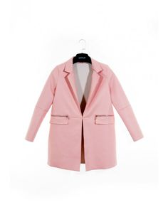 Štýlový dámsky kabát vhodný do každého šatníku. Kabát Peach 2 je z pohodlného a mäkkého materiálu.