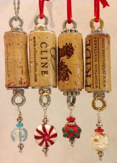 25+ best ideas about Cork ornaments