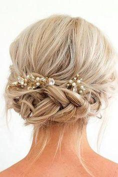 Resultado de imagen para short hair wedding styles