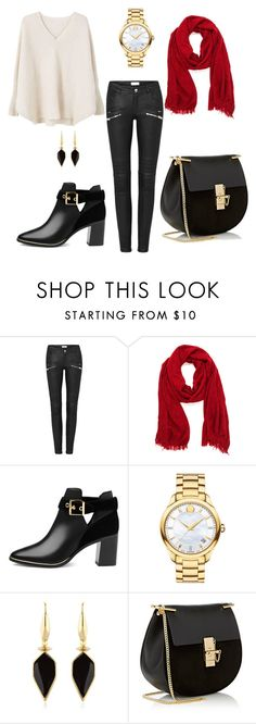 """""""Early Winter"""" by rdsaper on Polyvore featuring Ted Baker, Movado, Isabel Marant, Chloé and MANGO"""