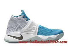 the best attitude a5e4e 2ea84 Nike Kyrie 2 Christmas 823108-144 Chaussures Nike Basket Pas Cher Pour Homme  Blanc Bleu