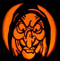 Hand carved witch on a foam pumpkin for Halloween decorating - Real Time - Diet, Exercise, Fitness, Finance You for Healthy articles ideas Easy Pumpkin Carving, Pumpkin Carving Patterns, Pumpkin Art, Pumpkin Ideas, Carving Pumpkins, Pumpkin Painting, Pumpkin Designs, Pumpkin Photos, Spooky Pumpkin