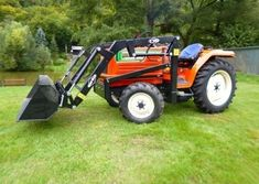 Plne funkčne malotraktor Hinomoto 23N9-DiN Tractors, 4x4, Monster Trucks, Vehicles, Car, Vehicle, Tools