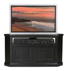 Breakwater Bay Meredith TV Stand Finish: Havana Gold, Door Type: Wood Panel