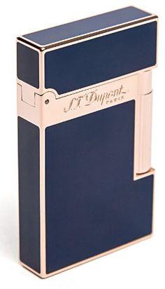 S.T. Dupont Ligne 2 Pink Gold & Blue Lighter £793.21