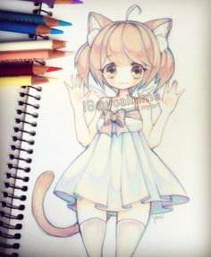 Not my drawing but it is so cute!!!