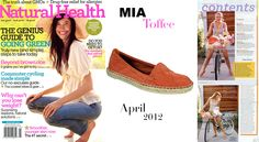 Look our 'Toffee' flat featured on Natural Health magazine!